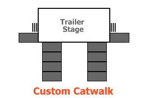 Catwalk hire for festivals Brisbane