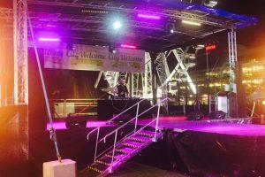 10m x 8m Neon Pop Festival