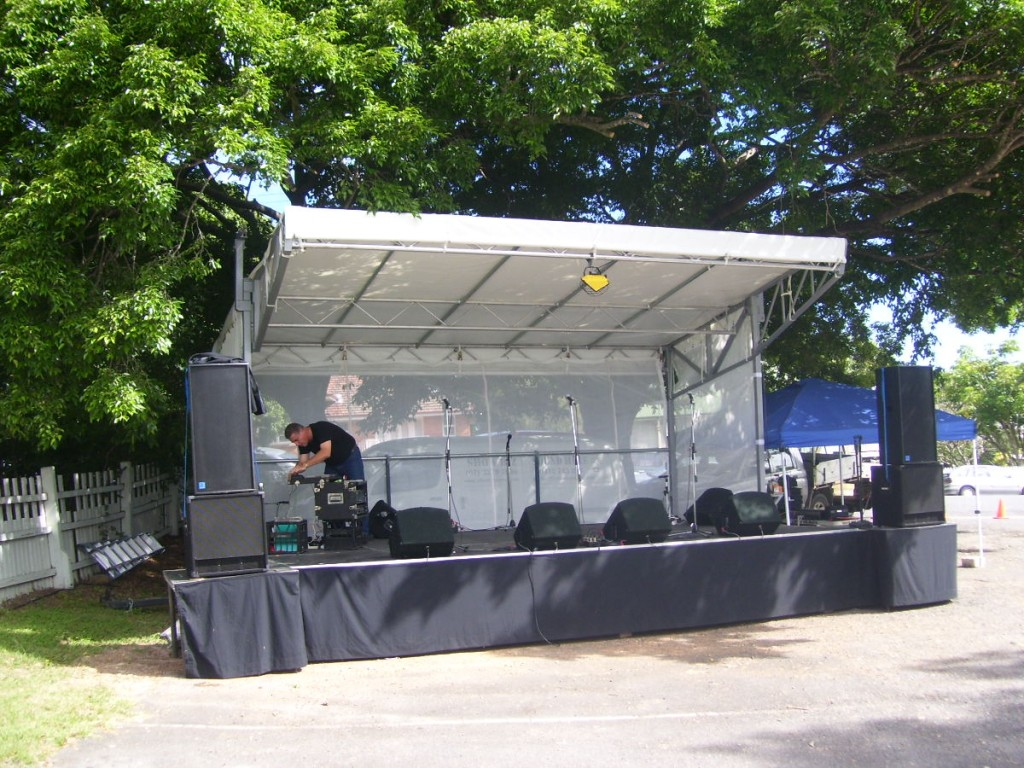 Small Stage Hire