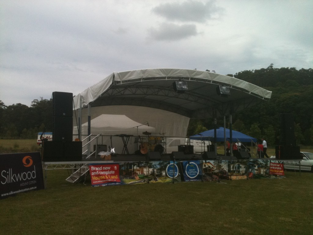 Stage Supplier Mobile Trailer Stages Sunshine Coast