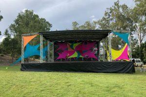 10m x 8m Colour Stage_Festival Hire Service