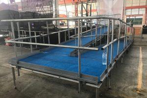 10m x 8m Stage + access Ramp(2)_Festival Hire Service