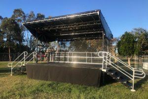 6m x 4m Cleveland Showgrounds Stage_Festival Hire Service