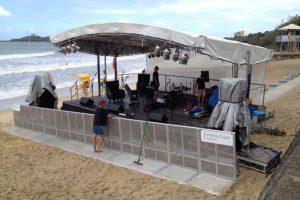8m x 6m Beach Stage_Festival Hire Service